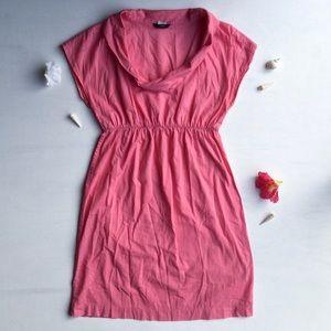 J. Crew - Pink, Collard, Mini Dress